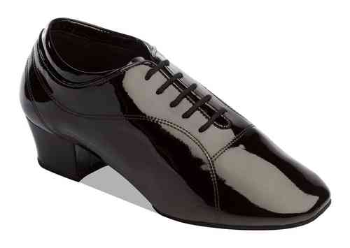 8500 Boys Black Patent